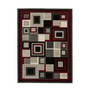 Černočervený koberec Think Rugs Hudson, 60x120cm