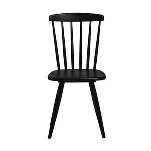 Sada 2 černých jídelních židlí Marckeric Jade