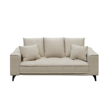 Canapea cu 2 locuri devichy Chloe, bej deschis