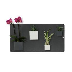 Magnetická tabule, černá, 28x55 cm