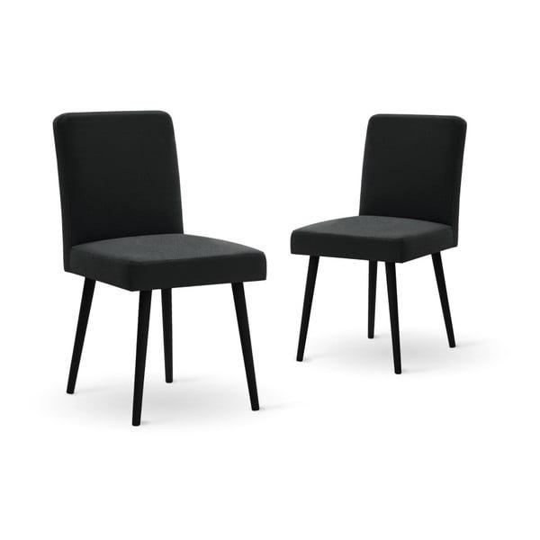 Set canapea crem, 2 scaune negre, o saltea 140 x 200 cm Home Essentials