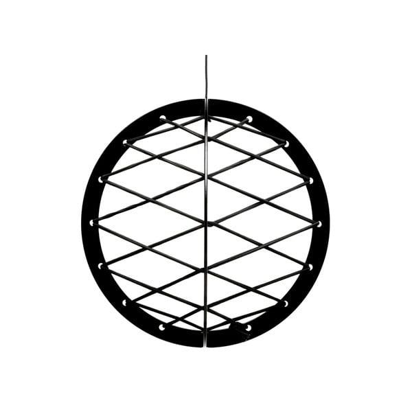 Závěsná úložná koule Black Metal Pluk