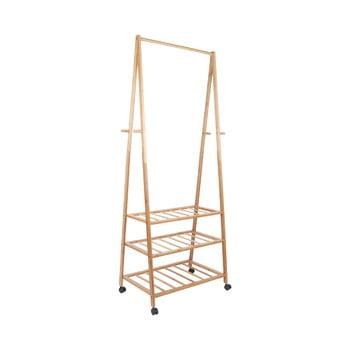 Cuier din bambus pentru haine Leitmotiv Native, înălțime175cm imagine