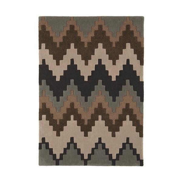 Vlněný koberec Cuzzo Chocolate 120x170 cm