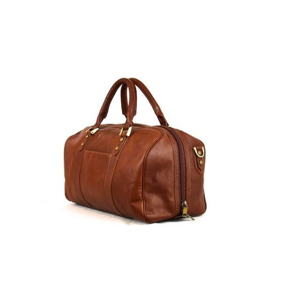 Kožená taška Santo Croce 82965bis Brown