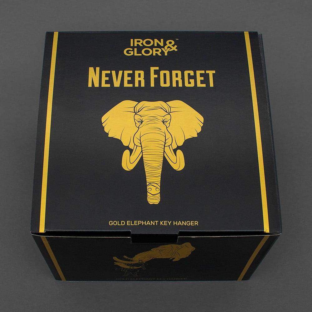 Klíčenka se slonem Luckies of London Never Forget