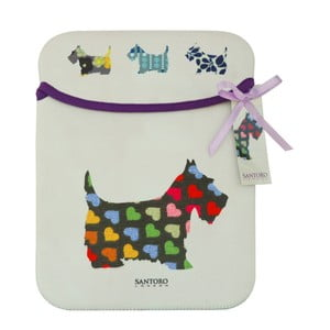 Oboustranný obal na iPad Santoro London Scottie Dogs Sleeve