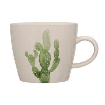 Cană din ceramică Bloomingville Cactus, 300 ml