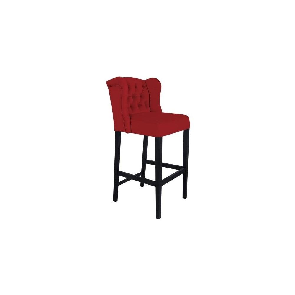 Červená barová židle Mazzini Sofas Roco