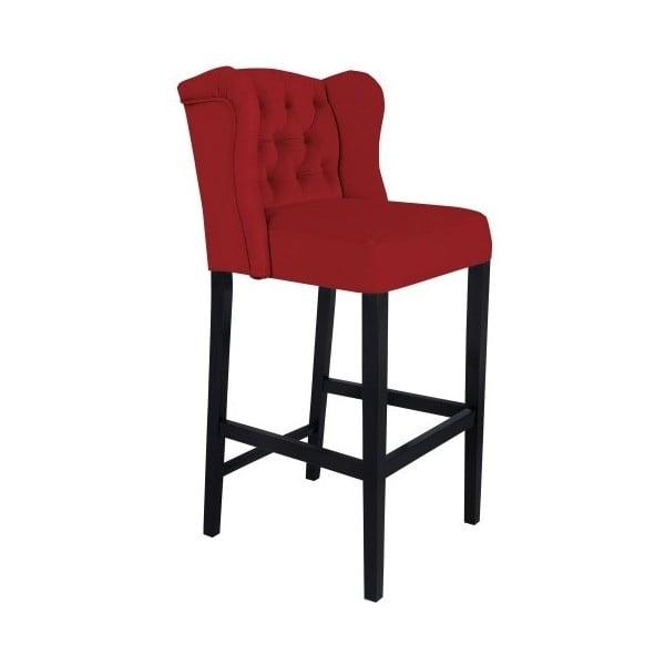Červená barová stolička Mazzini Sofas Roco
