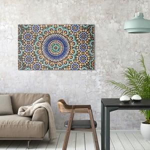 Obraz na plátně OrangeWallz Patern, 70 x 118 cm