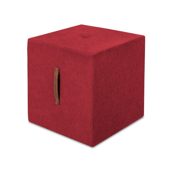 Czerwony taboret Kooko Home Bounce
