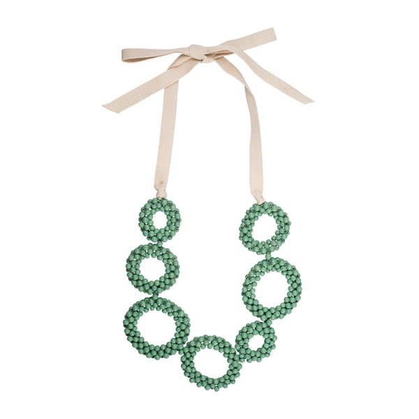 Náhrdelník Malinka, zelený