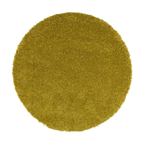 Zelený koberec Universal Aqua Liso, ø80cm