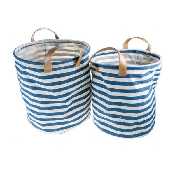 Set dvou plátěných tašek Blue Line