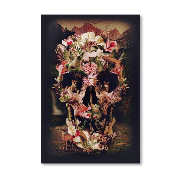 Autorský plakát Jungle Skull