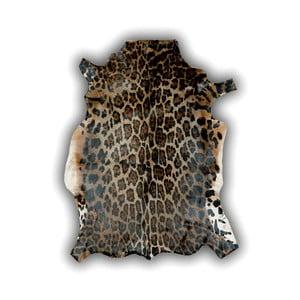 Kožená předložka Panther, 120x90 cm