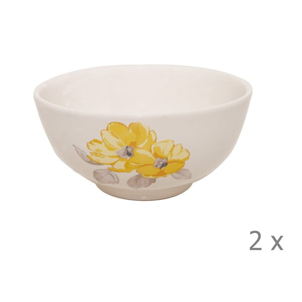 Set misek Elise Floral, 15 cm, 2 ks