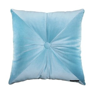 Modrý polštář Ragged Rose Fiona Velvet