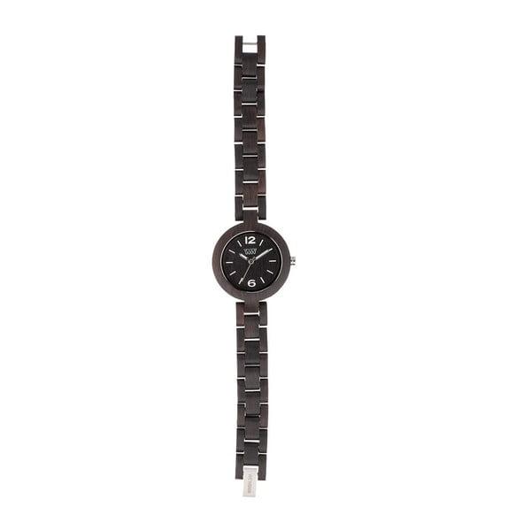 Dřevěné hodinky Mimosa Black