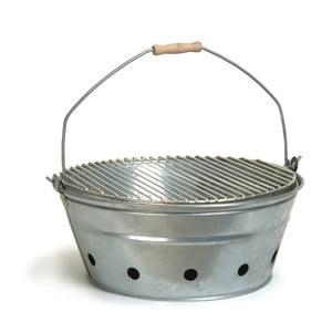 Grătar metalic portabil Garden Trading Rock BBQ, ø 47 cm