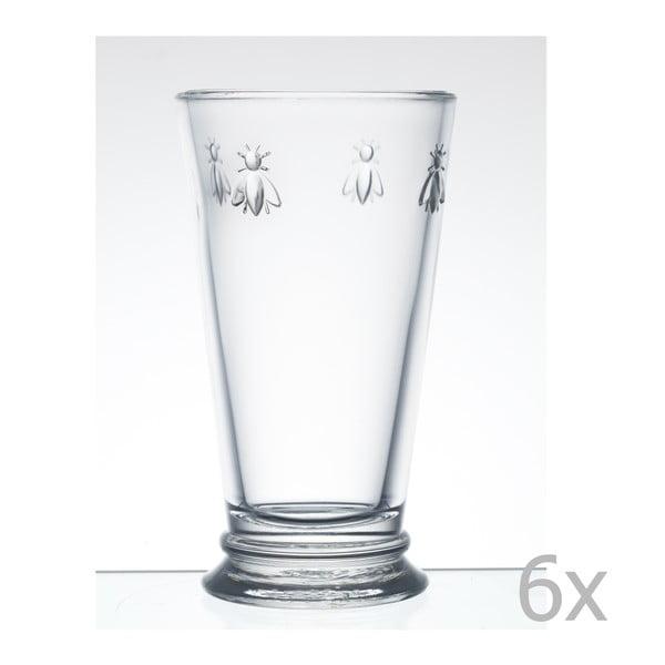 Sada 6 sklenic Abeille, 460 ml