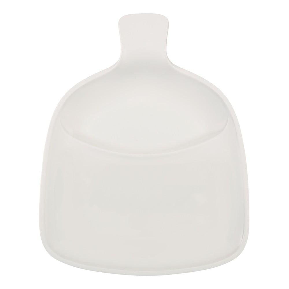 Bílý talíř z porcelánu Villeroy & Boch Artesano, 37 x 30,5 cm
