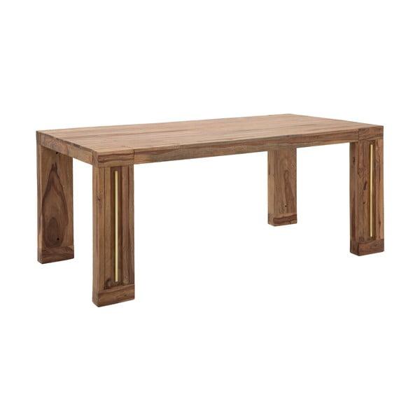 Masă din lemn sheesham Mauro Ferretti Elegant