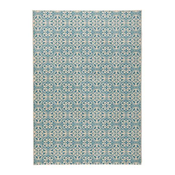 Modrý běhoun Hanse Home Gloria Pattern, 80x200cm