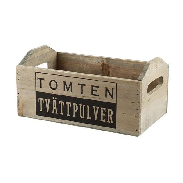 Sada 3 dřevěných boxů Tomten