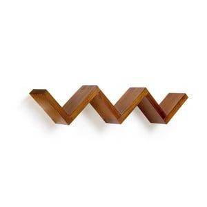 Police ze dřeva mindi Moycor Star, délka 120 cm