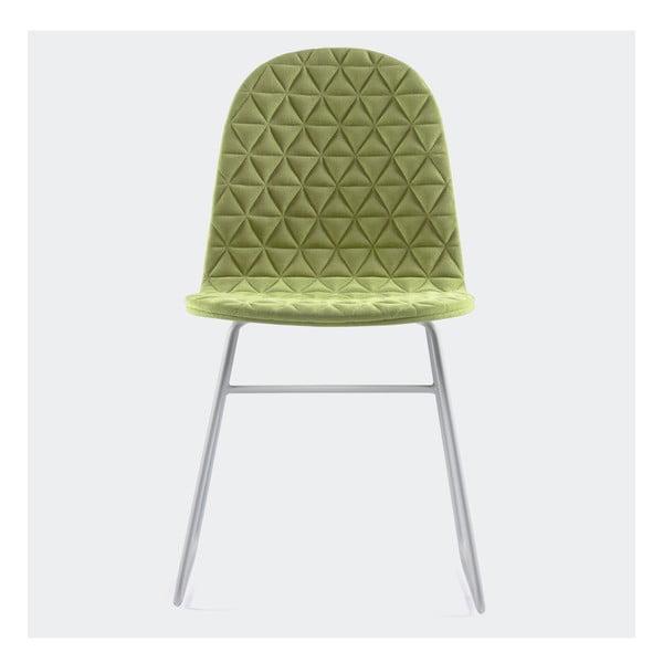 Židle Mannequin Triangel, zelená