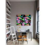 Obraz Tiger Lilly Black, 75x100 cm