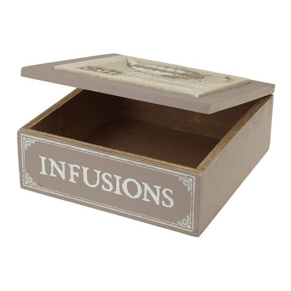 Dřevěná krabička Infusions