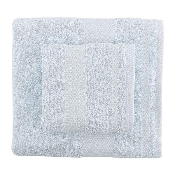 Sada 2 světle modrých ručníků Tommy