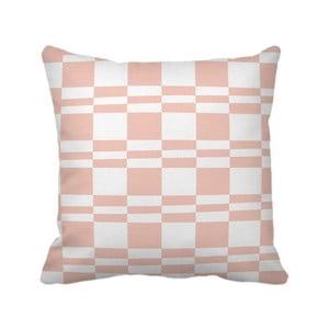Polštář Squarestripe Pink