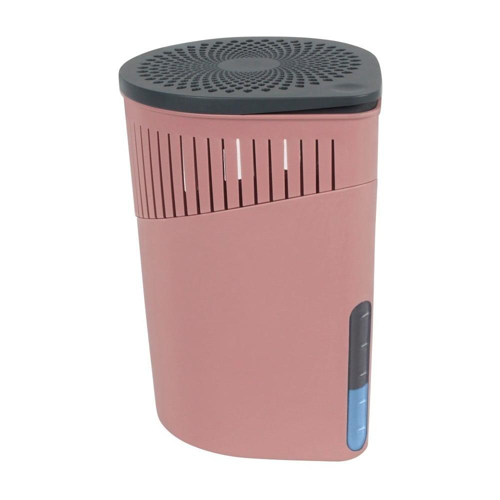 Růžový pohlcovač vlhkosti Wenko Drop