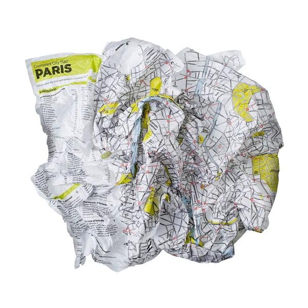 Hartă turistică șifonată Palomar Paris
