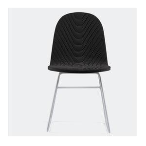 Židle Mannequin Metal, černá