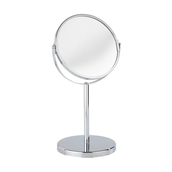 Oglindă cosmetică cromată Wenko Assisi , înălțime 35 cm