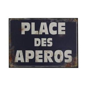 Tăbliță Antic Line Place Des Aperos