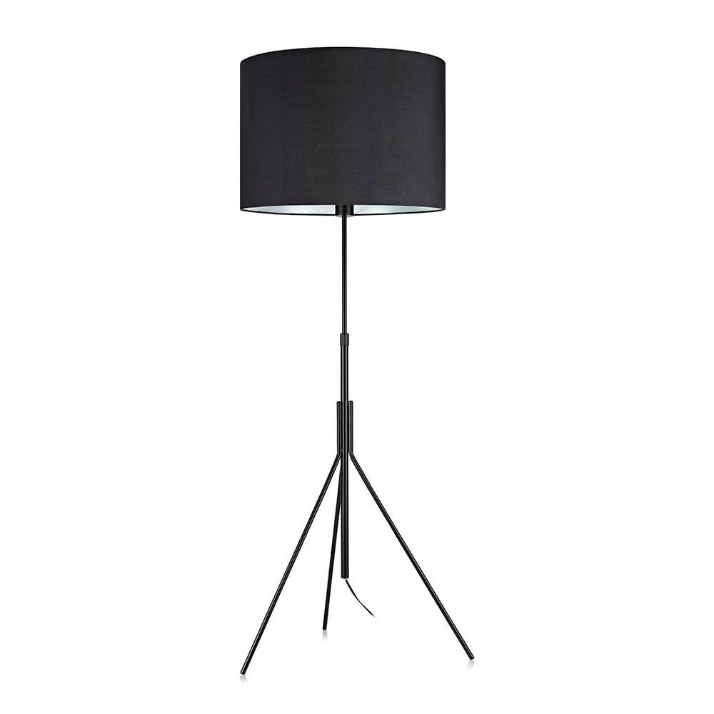 Černá stojací lampa Markslöjd Sling