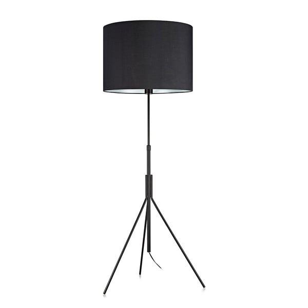 Černá stojací lampa Markslöjd Sling, ø 52cm