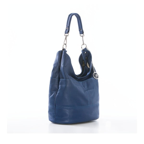 Kožená kabelka Guido, modrá