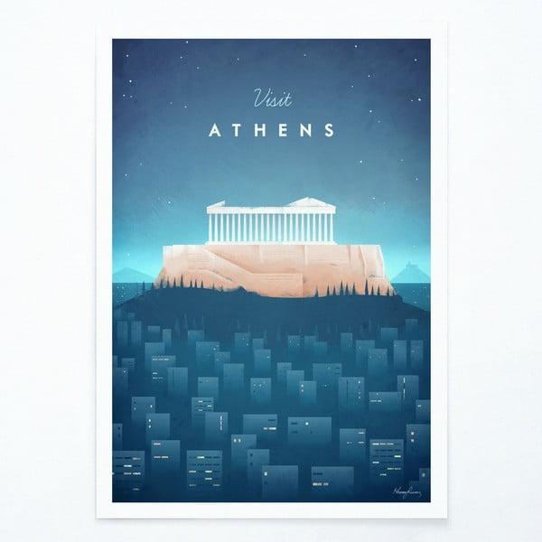 Plakát Travelposter Athens, A2
