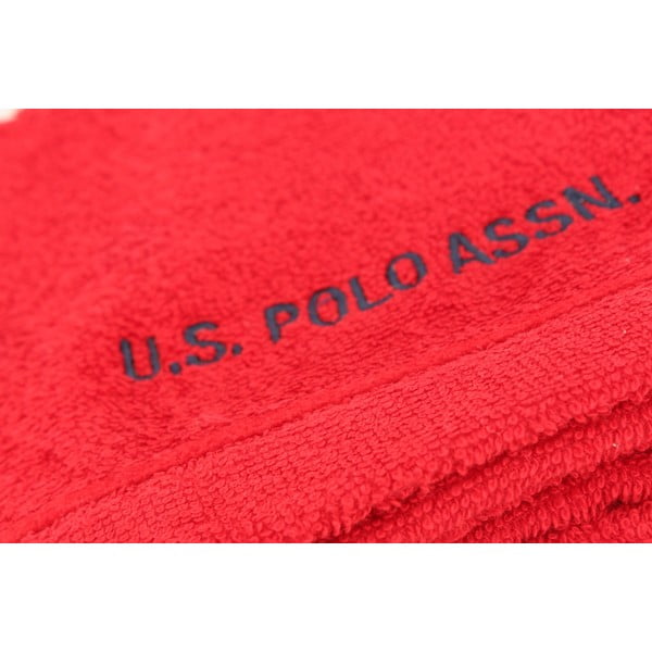 Sada 2 osušek U.S. Polo Assn. Wash Red, 30x50 cm