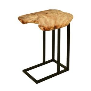 Příruční stolek s deskou z cedrového dřeva 360 Living Montanio 722