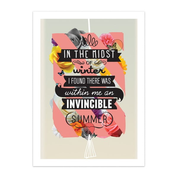 Plakát The Invincible Summer, limitovaná edice