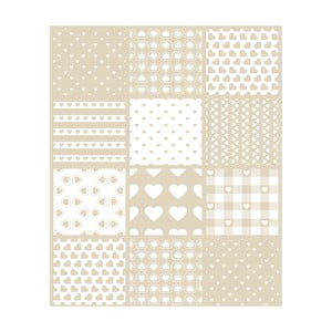 Vinylový koberec Corazones, 99x120 cm