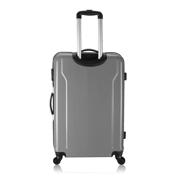 Sada 3 kufrů Integre Full Grey, 114 l/75 l/46 l